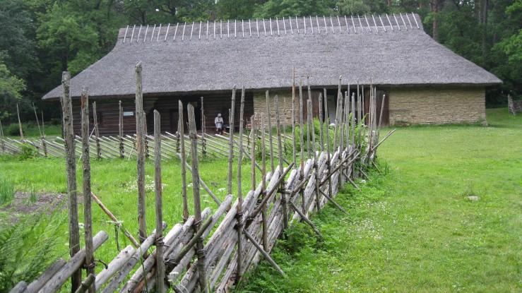 Garden Fence at Pulga Farm