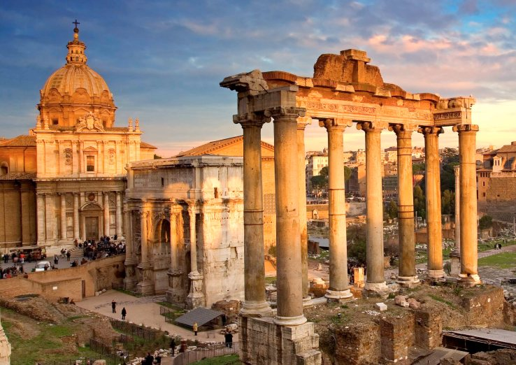 This beautiful photo of the Roman Forum was found on history.com. Our forums may not be as picturesque but certainly will be of value to those interested in history.