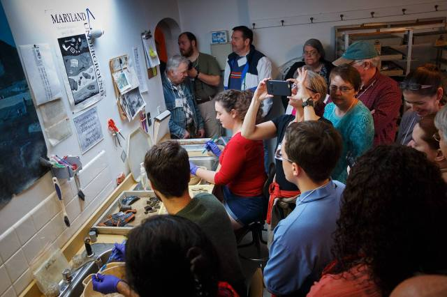 Tour of the HSMC archeology lab
