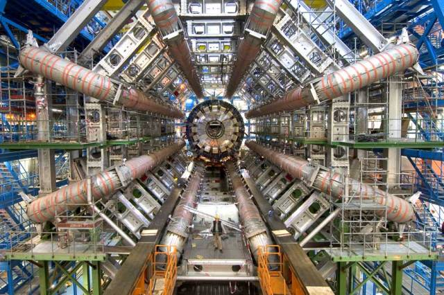 Large Hadron Collider. Image courtesy of Maximilen Brice, CERN.