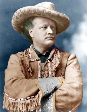 color Gordon Lillie pawnee bill