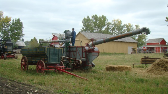 Threshing Rig at Heritage Park